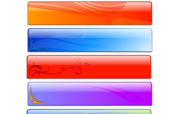 Free Free Vector Glass Header Designs - Fancy