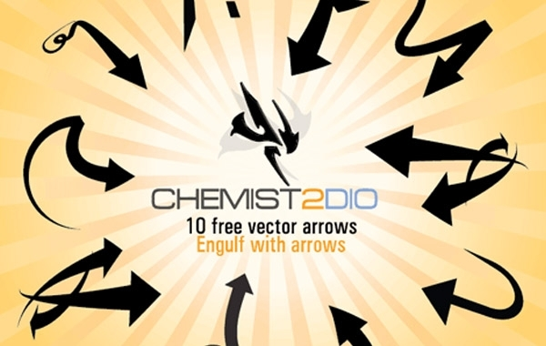 Free Free Vector Arrows - Engulf with Arrows