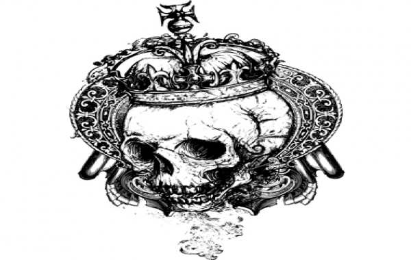 Free Free vector grunge skull