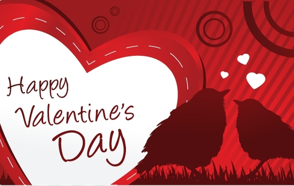 Free Vectors: Happy Valentine's day card | Vector Open Stock
