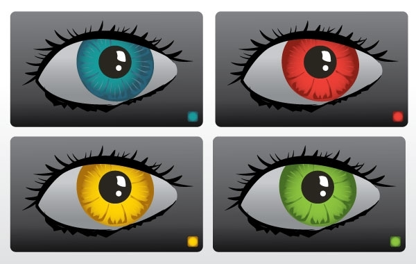 Free Color Eyes Vector