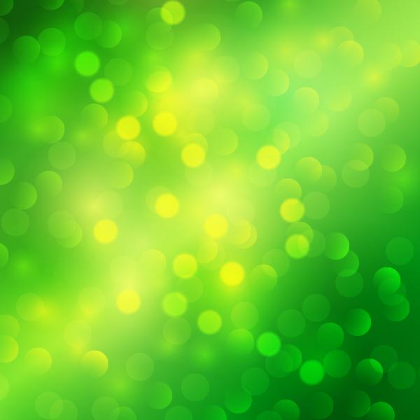Free Green Bokeh Background