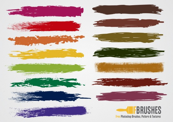 Free Colorful Brushes