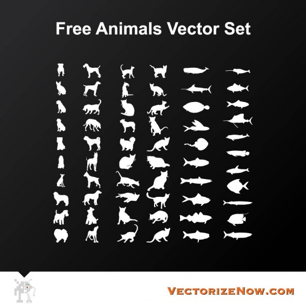 Free Animal Vector Set