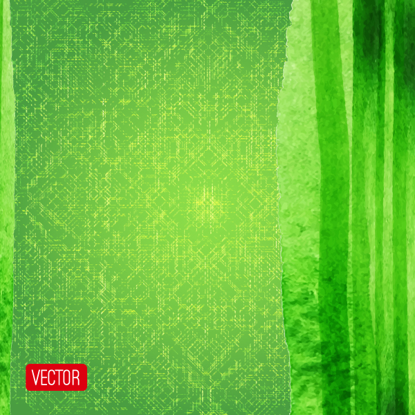 Free Free Green Abstract Vectpr Background