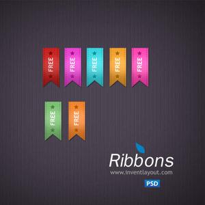 Free Free Vector Ribbons