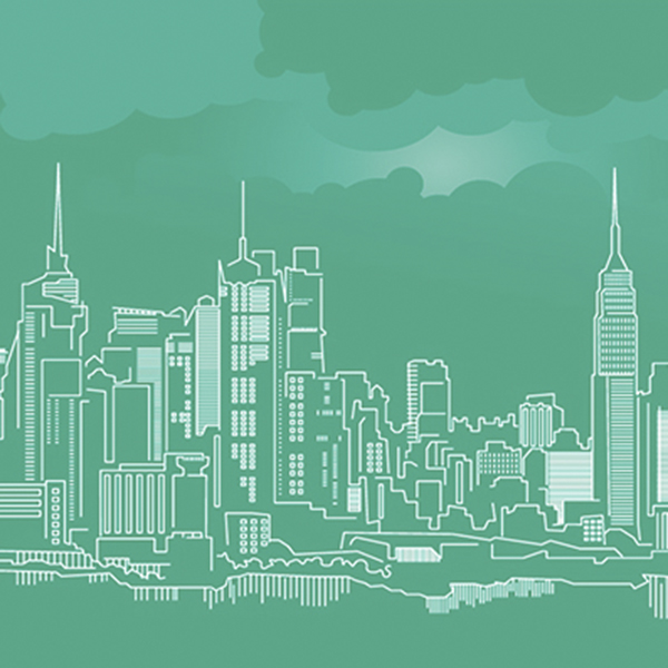 Free New York City Skyline Vector