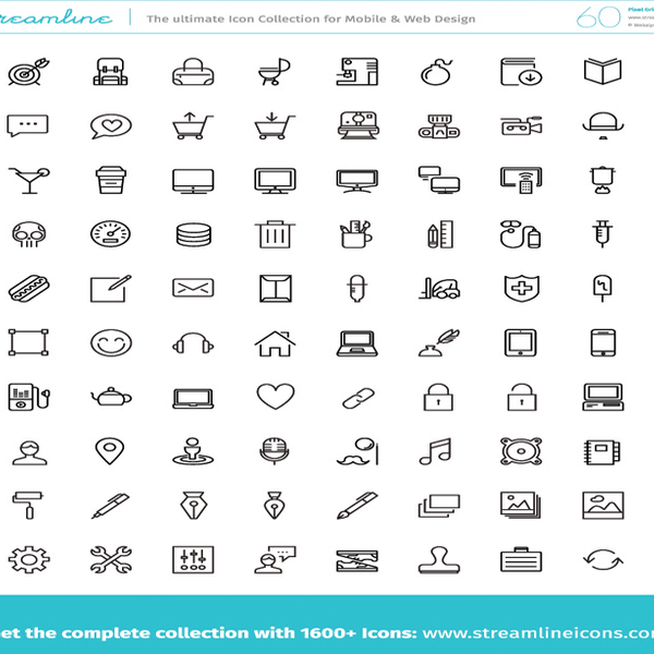 Free Free Vector Icons Pack