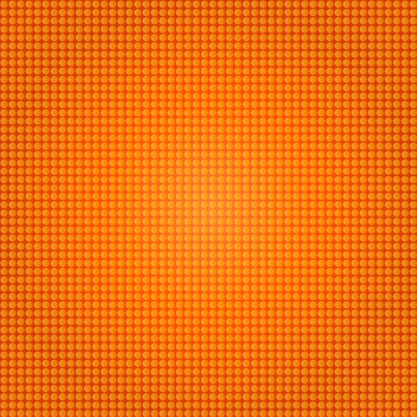 Free Orange Halftone Vector
