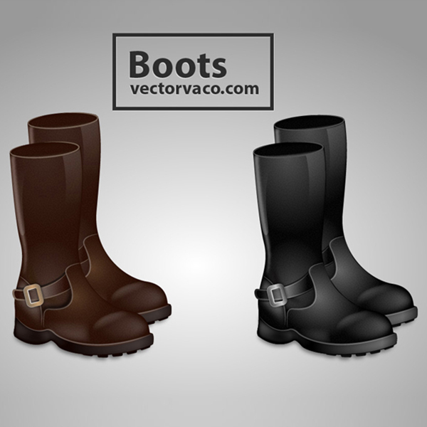 Free Free Vector Boots