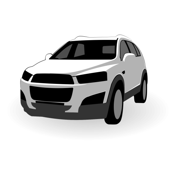 Free Free Vector Chevrolet Captiva Vector