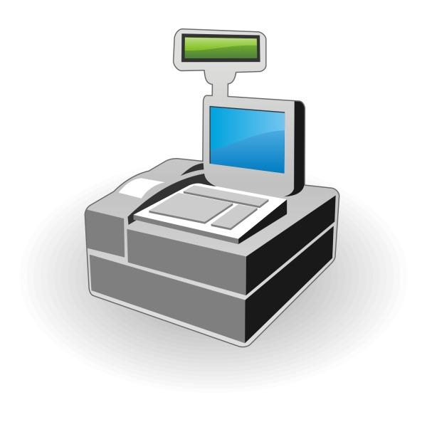Free Free Vector Cash Register Icon