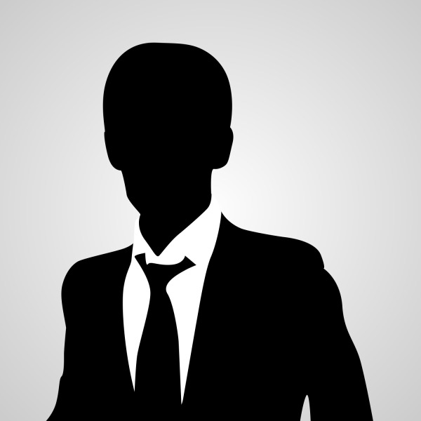 Free Free Vector Business Man Avatar Silhouette