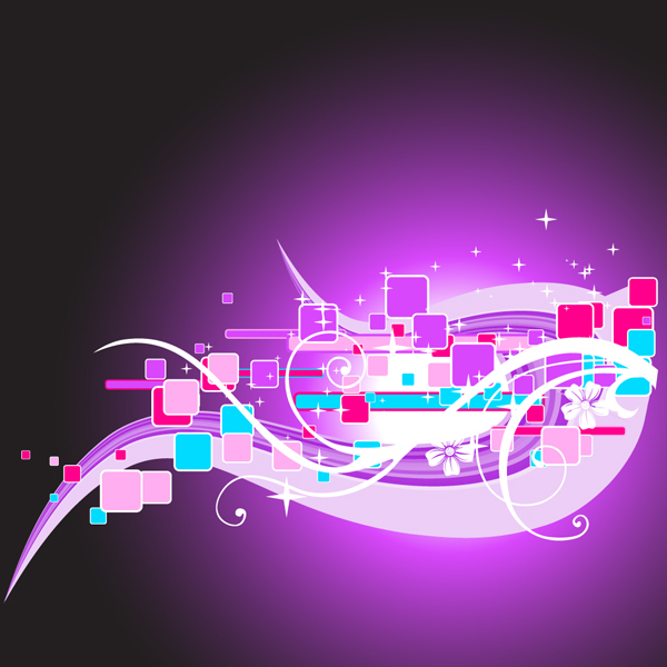 Free Abstract Purple Vector Background