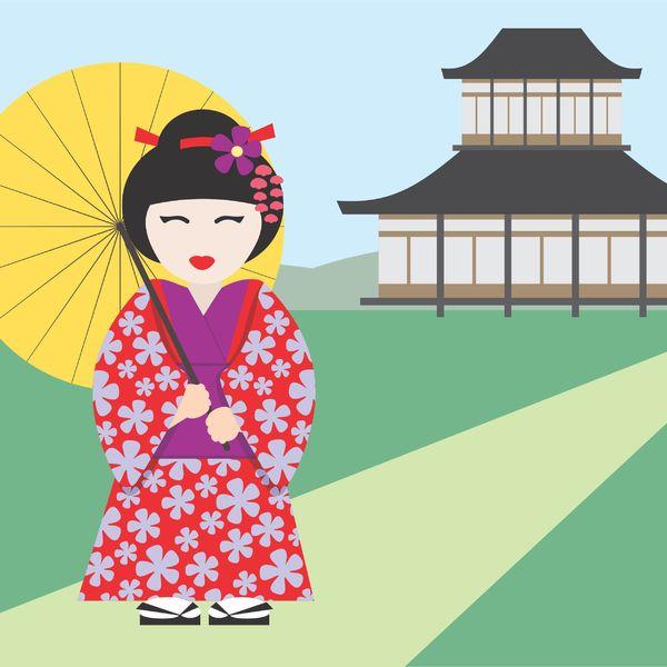 Freie Bilder von japanischen Mädchen #11