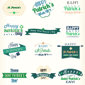 Free St. Patrick's Day Vector Elements