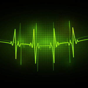 Free ECG Abstract Vector Background