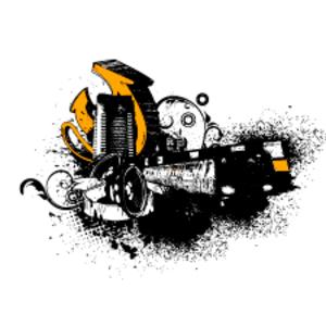 Free Grungy Urban Vector Illustration