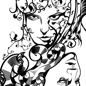 Free Elements Illustration Lineart
