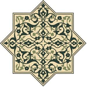 Free Afghan Ornamental Pattern