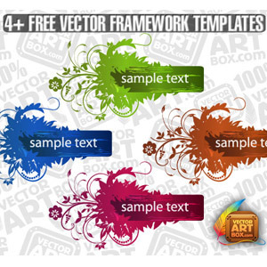 Free Useful Free Vector Flourish Framework Template