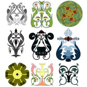 Free Cusacks Freehand Ornament Patterns