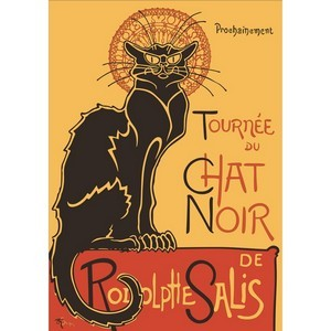 Free Theophile Steinlen - Le Chat Noir
