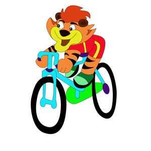 Free Tiger Cartoon Character- Free Vector.