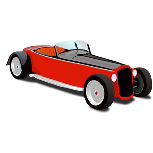Free Hot Rod Coupe Vector