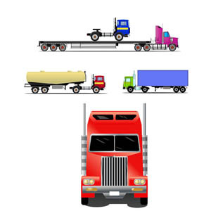 Free TRUKS & TRAILERS Free VECTOR GRAPHICS