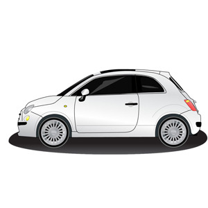 Free FREE VECTOR CAR –FIAT 500
