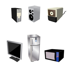 Free Home Electrical Appliances – Free Vector