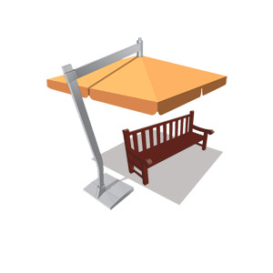Free Street Furniture-Free Vector Pack