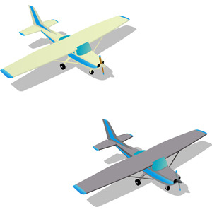 Free CESSNA PLANE FREE VECTOR