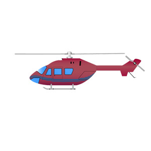 Free Free Helicopter Vector Illustration