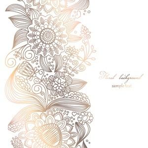Free Light Floral Background