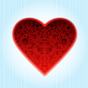 Free Vectors: Decorated Heart | Vecart Gr