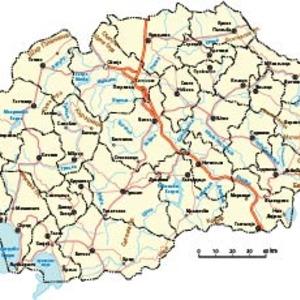 Free Macedonian Vectro Map
