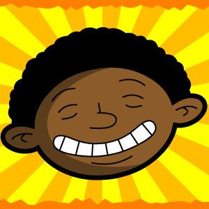 Free Happy Sunshine Black Kid