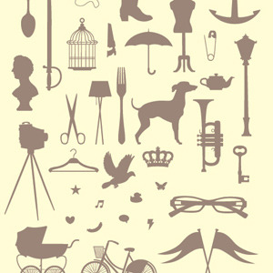 Free Victorian Silhouettes