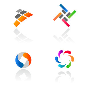 Free Vectors: Abstract Colorful Logotypes | Vector Logotypes