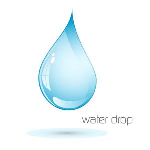 Free Water Drop Logotype