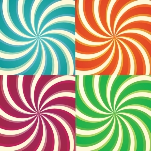 Free Set Of Simplistic Sunbursts