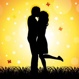 Free Couple Kissing