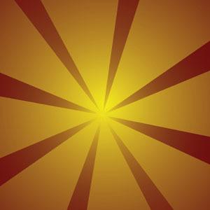 Free Vector Sunburst