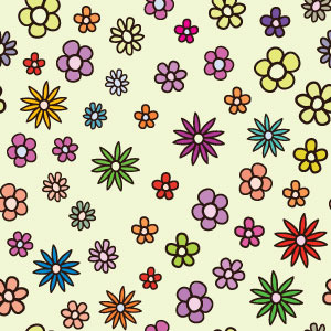 Free Free Floral Colorful Pattern