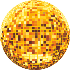 Free Vector Disco Ball