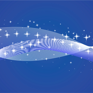Free Abstract Background With Stars