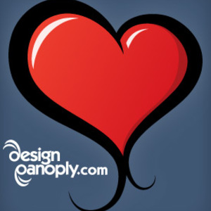 Free Ilustrated Vector Heart
