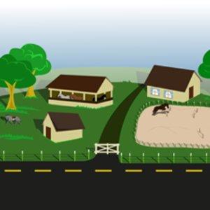Free Farm With Horses